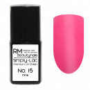 Simply-Lac Premium UV-Polish Nr. 15 Pink 10ml
