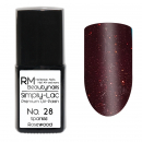 Simply-Lac Premium UV-Polish Nr. 28 Sparkle Rosewood 10ml
