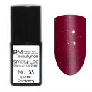 Simply-Lac Premium UV-Polish Nr. 33 Sparkle Cranberry 10ml
