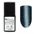 Simply-Lac Premium UV-Polish Nr. 35 Galaxy Glitter Genesis 10ml