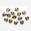 Swarovski® Kristall - Skull Golden Shadow