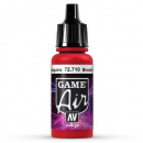 Vallejo Game Air 710 Bloody Red, 17 ml